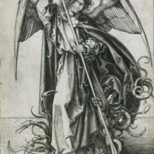 L'ange terrasse le dragon